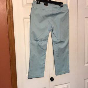Studio Y Pants - Studio y light blue Capri pants
